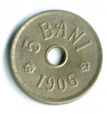 5  BANI 1906 LITERA J STARE  AUNC