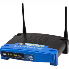 Routere Linksys by Cisco WAP54G si BEFW11S4 import SUA - Router wireless Linksys, Porturi LAN: 1, Porturi WAN: 4