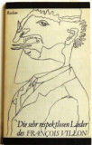 Die sehr respektlosen Lieder des Francois Villon, 1981