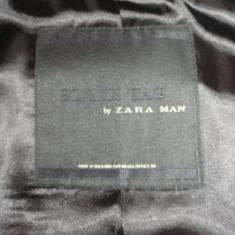 Vand costum zara man black tag - Costum barbati Zara, Marime: 42, Culoare: Bleumarin, 2 nasturi, Marime sacou: 40, Normal