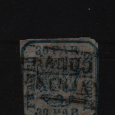 1862 l.p. 10 stampilat - Timbre Romania