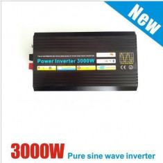INVERTOR( convertor ) 12v/24v/48V la 220V 3 KW SINUSOIDA PURA 3000W REALI !