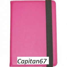 Husa Tableta Universala De 10.1inch Negru mov Si Roz, 10 inch