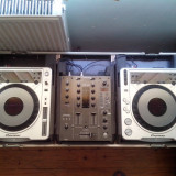 Pioneer CDJ800 MK2 Pioneer DJM400 & Case