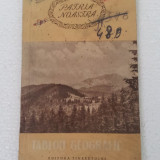 GEO BOGZA - TABLOU GEOGRAFIC (PATRIA NOASTRA) - Carte de calatorie