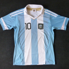 Tricou fotbal AFA (Argentine Football Association); marime XS: 44.5 cm bust - Tricou barbati, Culoare: Din imagine