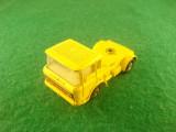 Matchbox SuperKings K-11 DAF CAR TRANSPORTER Made in England c. 1970 Lesney Products & C. Are axu din fata serit din lacas. In rest este ok.