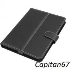 Husa Tableta Universala De 8 inch Negru Si Roz