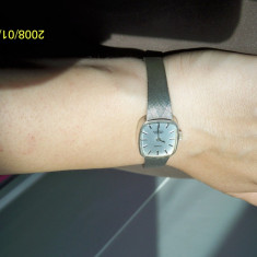 Ceas argint masiv Pallas Exquisite