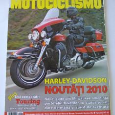 REVISTA MOTOCICLISMO , ANUL 2009 NUMARUL 29  OCTOMBRIE .