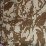 Veston Scurta militara rip stop desert - Camasa barbati, Marime: 44, Culoare: Crem, Maneca lunga