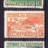 Timbre LUXEMBURG 1921 = MONUMENTE PRIMUL RAZBOI MONDIAL, ST.