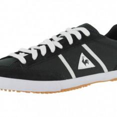 Adidasi originali Le Coq Sportif- tenisi dama-piele-adidasi femei-in cutie-37, Culoare: Negru