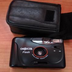 Objecta Flash - 30mm - Focus Free cu film - husa piele