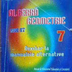 ALGEBRA GEOMETRIE MATE BT CLASA A VII-A - Artur Balauca - Culegere Matematica