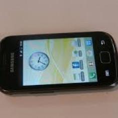 Samsung Galaxy Gio-Impecabil - Telefon mobil Samsung Galaxy Gio, Negru, Neblocat