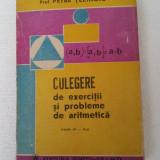 CULEGERE DE EXERCITII SI PROBLEME DE ARITMETICA