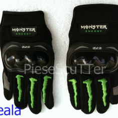 Manusi Moto - Scuter Monster cu Protectie