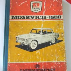 CARTE TEHNICA MOSKVICH 1500