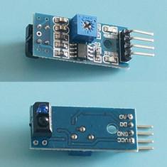Senzor infrarosu pt urmarire linie (line tracking) Arduino