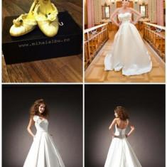 Rochie de Mireasa (Isadorable) - BONUS: pantofi Mihai Albu, Rochii de mireasa A-line