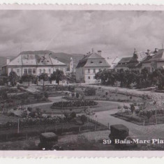 Baia Mare, Piata Unirii, necirculata, 1937