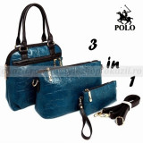POLO 3 in 1 - geanta de dama din piele