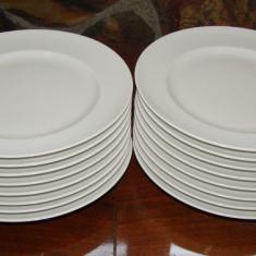 Set de 16 farfurii pentru aperitiv din portelan Thomas ROSENTHAL, cu diametrul de 21, 8 cm