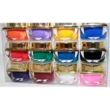 KIT set 12 gel color geluri uv colorate - Gel unghii