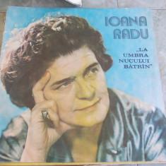 IOANA RADU - LA UMBRA NUCULUI BATRAN ! - Muzica Populara, VINIL