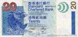HONG KONG █ bancnota █ 20 Dollars █ 2003 █ P-291 █ SCB █ UNC █ necirculata