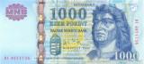 UNGARIA █ bancnota █ 1000 Forint █ 2006 █ P-195b █ UNC █ necirculata