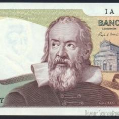ITALIA █ bancnota █ 2000 Lire █ 1983 █ P-103c █ UNC █ necirculata