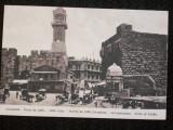 Jerusalem,poarta de la Jafa.Carte postala din 1910 necirculata.Reducere!