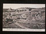 Jerusalem,valea lui Iosif.Carte postala din 1910,necirculata.Originala.Reducere!
