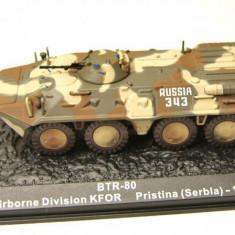 Macheta tancheta BTR-80 - Pristina - 1999 scara 1:72