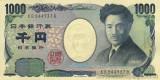 JAPONIA █ bancnota █ 1000 Yen █ 2004 █ P-104b █ UNC █ necirculata