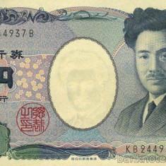 JAPONIA █ bancnota █ 1000 Yen █ 2004 █ P-104 █ UNC █ necirculata - bancnota asia