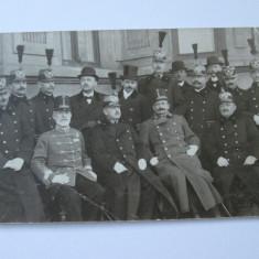 FOTOGRAFIE OFITERI SUPERIORI DIN 1913 - Fotografie veche