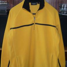 Hanorac barbati culoarea galben, Marime: 42, Poliester