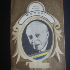 ANDRE MAUROIS - MEMORII - Biografie
