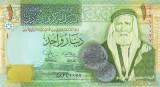 IORDANIA █ bancnota █ 1 Dinar █ 2009 █ P-34e █ UNC █ necirculata