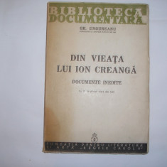 Gh. Ungureanu - Din vieata lui Ion Creanga,rf4/3