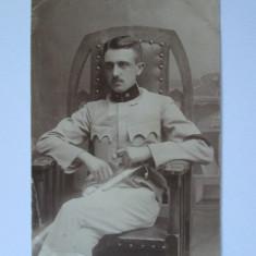 FOTOGRAFIE OFITER DE HUSZARI DIN 1918 - Fotografie veche