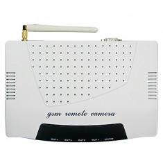 Sistem de alarma compact, complet, GSM SMS, camera GPRS MMS, 3 telecomenzi radio, 11 senzori radio, 1 senzor fir Paradox, cartela SIM, configurat - Camera CCTV