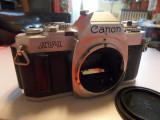 Aparat foto film 35mm CANON AV-1 fara obiectiv perfect functional