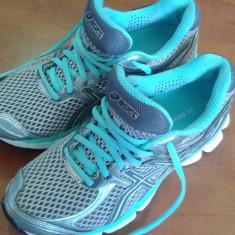 Adidasi femei ASICS GEL CUMULUS 14 - Adidasi dama Asics, Culoare: Gri, Marime: 36, Gri