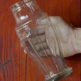 Vaza veche din sticla - model deosebit !!!! - Arta din Sticla