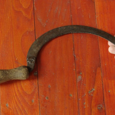 Scule - unelte ---- secera veche pentru uz gospodaresc - decor rustic !!! - Metal/Fonta
