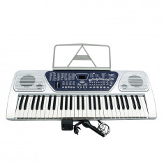 KEYBOARD/ORGA ELECTRONICA PROFESIONALA CU 54 TASTE, MP3 PLAYER STICK USB, AFISAJ.